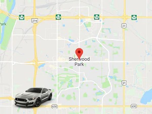 Directions from Sherwood Park