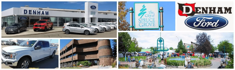 ford dealership serving the whole spruce grove and edmonton, ab area