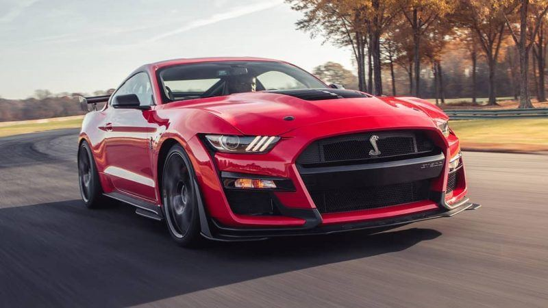 2020- ford mustang